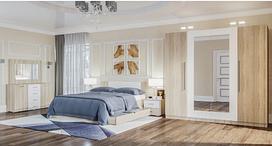 Спальня Лилея Новая комплект с 3Д шкафом. Світ Меблів.