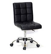 Кресло офисное  на колесах  AUGUSTO  СН-OFFICE  экокожа, черный
