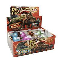 Упаковка дино-инкубаторов T005 6x4.5см растишка яйцо динозавра растущий динозавр, 12 шт