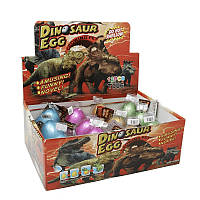 12шт. Упаковка дино-инкубаторов T005 6x4.5см растишка яйцо динозавра растущий динозавр