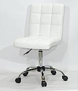 Кресло офисное  на колесах  AUGUSTO  СН-OFFICE  экокожа, белый