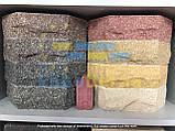 Цегла для забору двокутова скеля (10 варіантів кольорів), фото 9