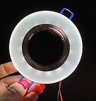 Точечный светильник с LED подсветкой, фото 1