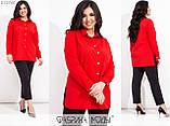 Брючний костюм жіночий Блуза і брюки Супер софт Розмір 48 50 52 54 56 58 60 62 В наявності 6 кольорів, фото 3