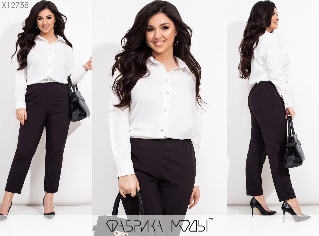 Брючний костюм жіночий Блуза і брюки Супер софт Розмір 48 50 52 54 56 58 60 62 В наявності 6 кольорів