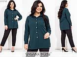 Брючний костюм жіночий Блуза і брюки Супер софт Розмір 48 50 52 54 56 58 60 62 В наявності 6 кольорів, фото 6