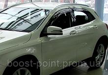 Дефлекторы окон (ветровики) Mercedes-benz gla-class (x156) (мерседес-бенц/бенз жла-класс х156) 2013, 2014+