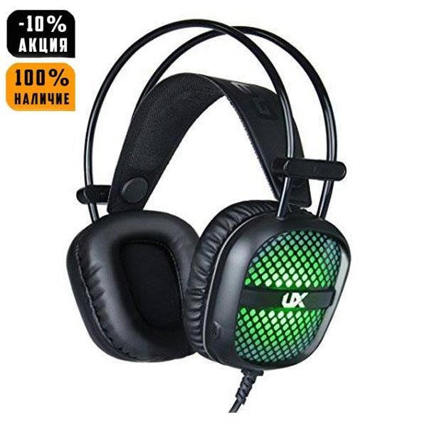 Ігрові навушники E-Sports Headphones A2 з мікрофоном та підсвіткою (геймерські)