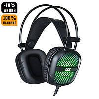 Ігрові навушники E-Sports Headphones A2 з мікрофоном та підсвіткою (геймерські), фото 1