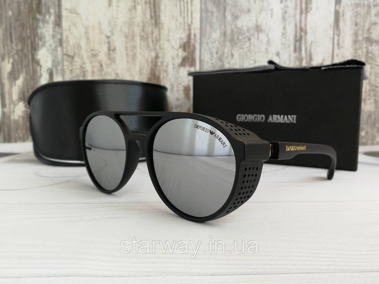 Брендовые солнцезащитные очки в стиле Emporio Armani | топ