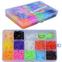 Набор резинок для плетения браслетов с инструментами