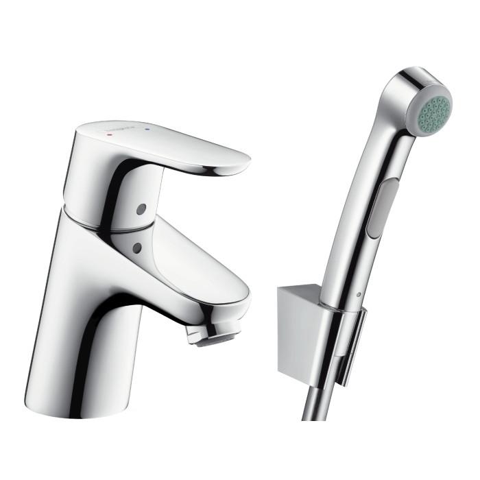 Смеситель для умывальника Hansgrohe Focus 70 с гигиеническим душем - 31926000