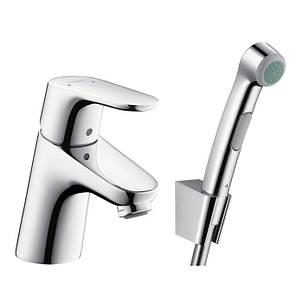 Смеситель для умывальника Hansgrohe Focus 70 с гигиеническим душем - 31926000, фото 2