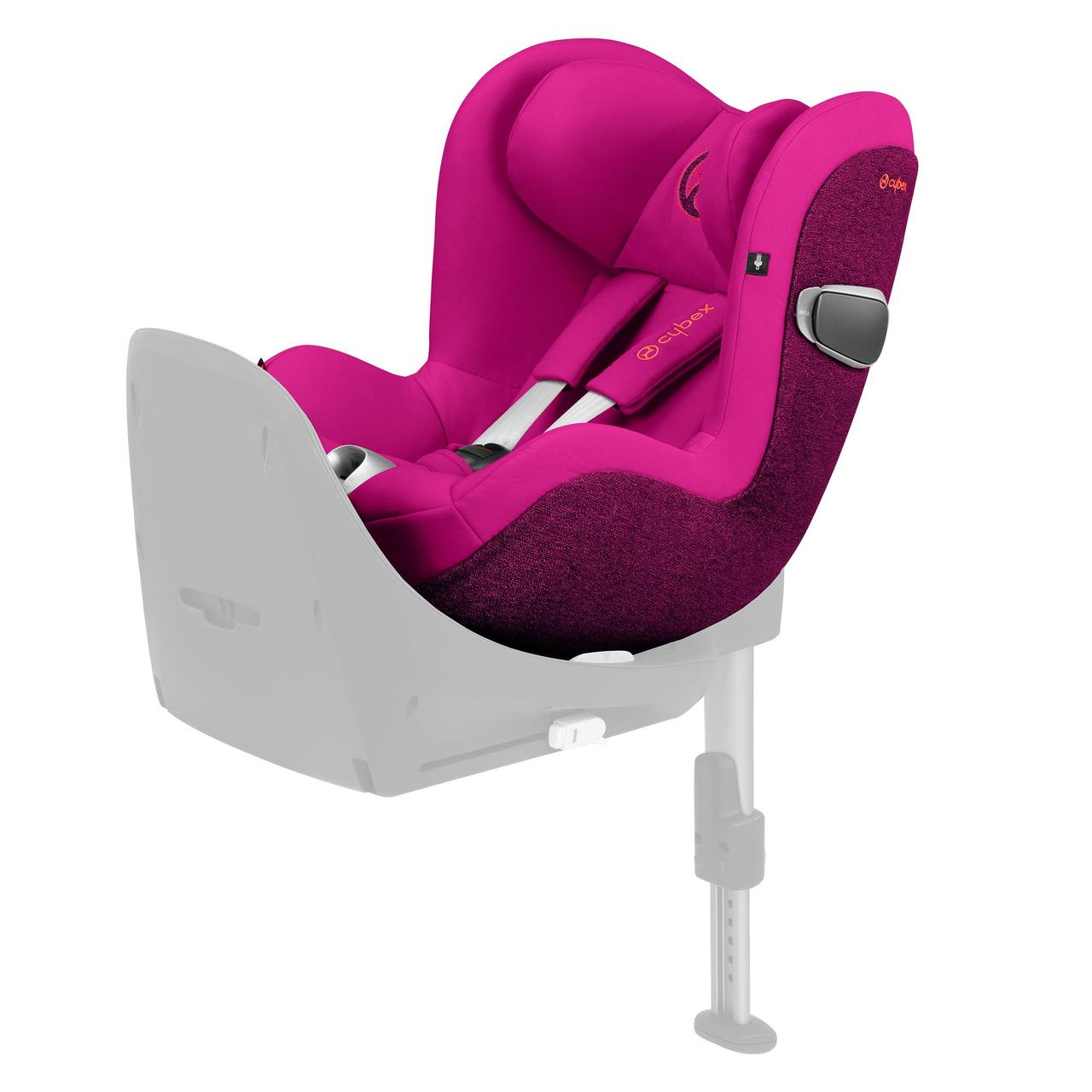 Автокрісло Cybex Sirona Z i-Size Passion Pink purple