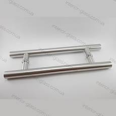Ручка трубчатая HDL-633 (L=600 мм, м/о 425 мм) для стеклянных дверей