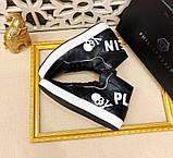 Кросівки чоловіча 43(р) чорний 668-6 Philipp Plein КНР Весна-B, фото 2