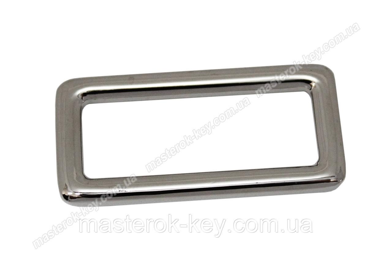 Рамка сумочная 50404 цвет никель 30*10мм