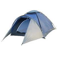 Палатка туристическая Zefir pro 3 клеенные швы, 3500 мм кемпинговая