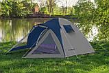 Палатка туристическая Presto Furan 3, проклеенные швы, 3500 мм (туристичний намет), фото 3