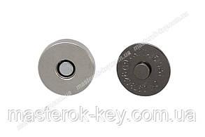 Магнитная кнопка 65-101-14 d14мм цвет Никель