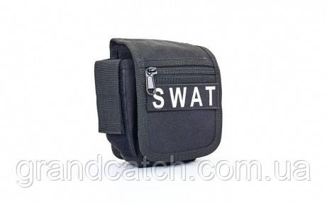 Сумка на пояс Чорна RT-SWAT