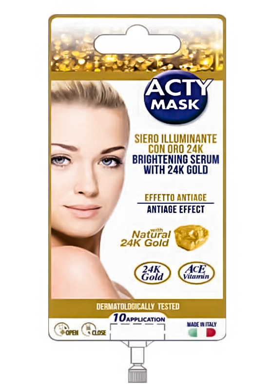 Сироватка для обличчя з натуральним 24-до золотом