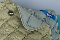Одеяло двуспальное ОДА 175х210 см. | Тепла ковдра, наповнювач холлофайбер | Одеяло стёганное теплое ODA