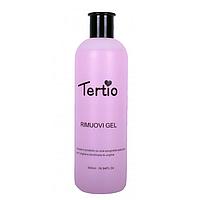 Жидкость для удаления гель лака 1000 мл Tertio Rimuovi Gel PINK Тертио