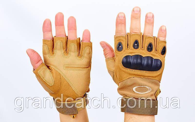 Перчатки Oakley открытые Койот