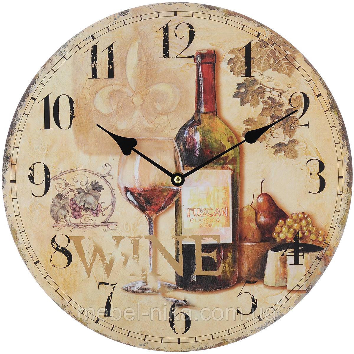 Часы настенные МДФ 34 см