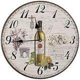 Часы настенные МДФ 34 см, фото 2