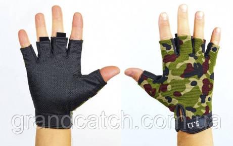 Перчатки 5.11 беспалые Камуфляж