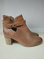 Ботинки женские демисезонные кожаные последний размер 41