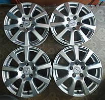 4шт. Диски литые 7Jx16H2 ET40 5x112 DIA 72.6 Borbet Audi A4 WV passat, Touran