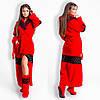 Женский стильный набор халат с сапожками