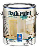 КРАСКА BATH PAINT FINISH | SATIN (Полуматовая), Extra White, Sherwin Williams, (3,78 л)