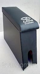 Подлокотник ВАЗ 2107 с вышивкой карпет
