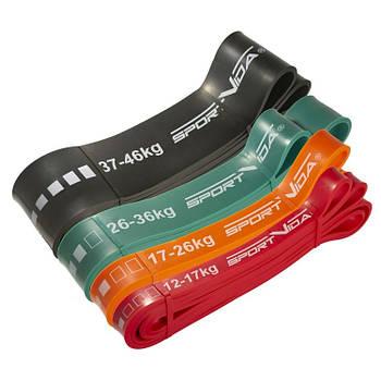 Набір гуми для фітнесу SportVida Power Band 104 см (4 шт)