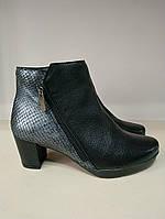 Ботинки женские демисезонные кожаные размер 36 37