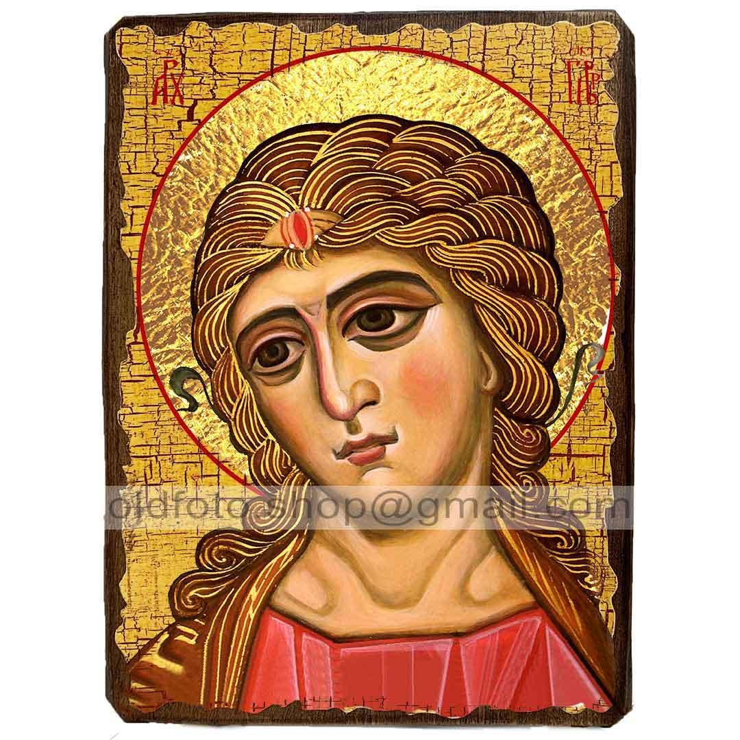 Икона Ангел Златые Власы (130х170мм)