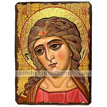 Икона Ангел Златые Власы ,икона на дереве 130х170 мм