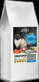 Сухой корм для взрослых котов HOME FOOD SENSITIVE МОРСКОЙ КОКТЕЙЛЬ 1,6