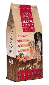 Корм для Собак Середніх порід М'ясне Асорті 10кг (MAS-10)
