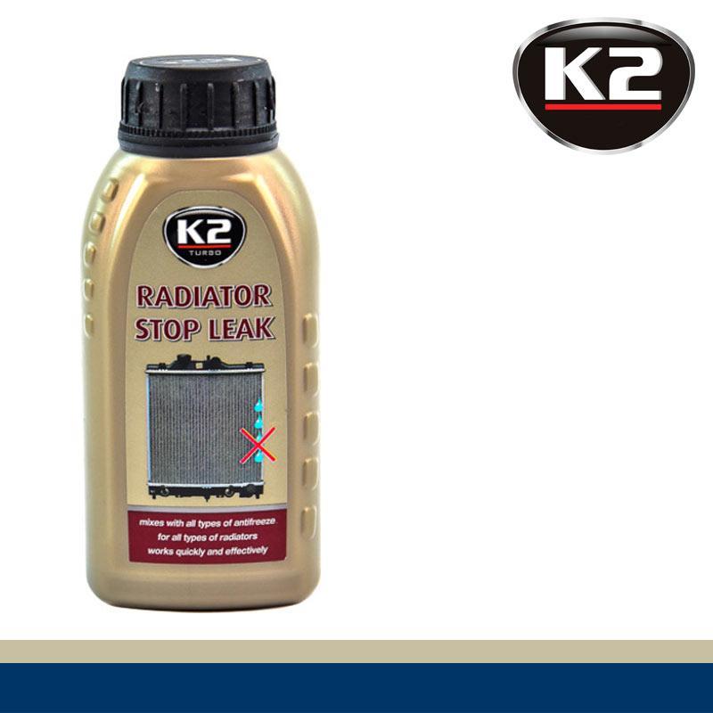 Герметик радиатора K2 Radiator Leak-Stop 250g