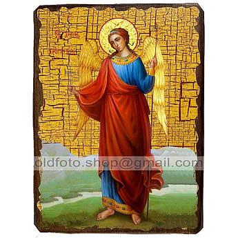 Икона Ангел Хранитель ,икона на дереве 130х170 мм