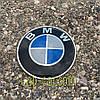 3D наклейка для дисків BMW carbon. 65мм