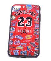 Чехол iPhone 7/8 Supreme красный