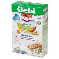 Каша безмолочная Bebi Premium гречневая низкоаллергенная с пребиотиком 4м+ 200г Словакия 1104682