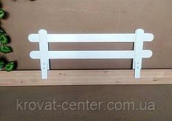 """Белый защитный бортик для детской кровати """"Масу"""" 116 см., фото 2"""