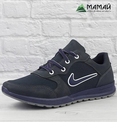 Кросівки чоловічі сітка сині 45р, фото 2
